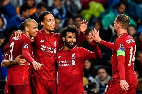 Liverpool Tekuk FC Porto 4-1