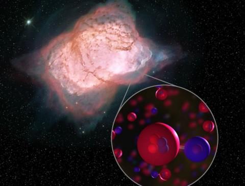 NASA Temukan Molekul Pertama di Alam Semesta