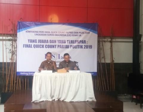 LSI Denny JA: NasDem Meroket di Pemilu 2019