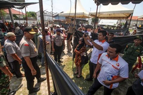 Pos TNI AL di Lhokseumawe Dirusak