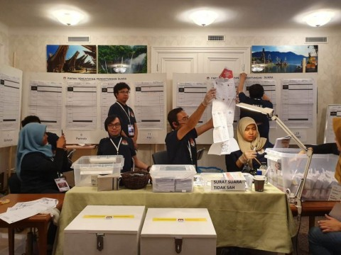 Jokowi-Ma'ruf Tumbangkan Prabowo-Sandi di Swedia