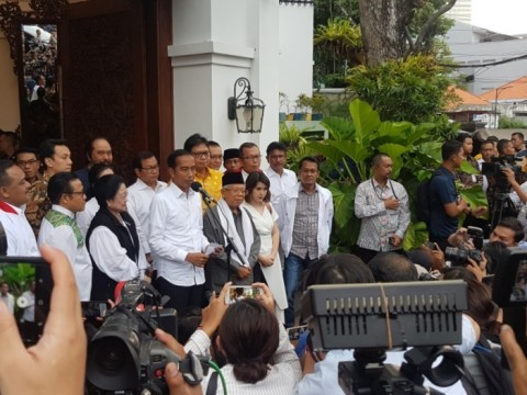 Jokowi Meyakini <i>Quick Count</i> 99 Persen Akurat