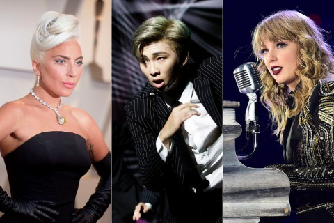 Taylor Swift, BTS, dan Lady Gaga Masuk dalam 100 Orang Berpengaruh di Dunia