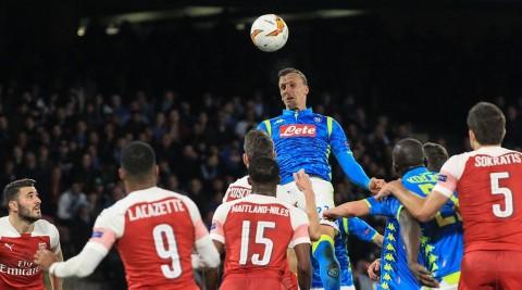 Kembali Tekuk Napoli, Arsenal Melaju ke Semifinal Liga Europa