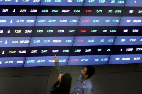 Pascapemilu, Kapitalisasi Pasar BEI Tembus Rp7.401 Triliun