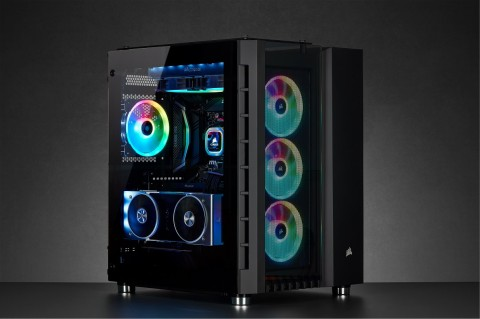 Corsair Crystal 680X RGB, Casing PC Mewah
