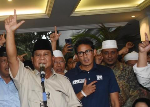 Isu Keretakan Koalisi Prabowo Menyeruak