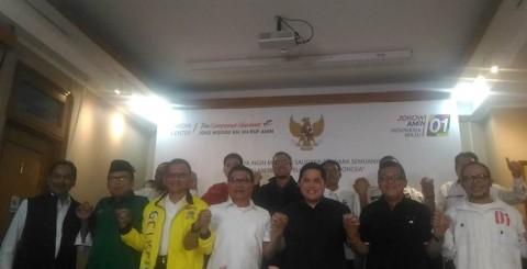 TKN Deklarasi Kemenangan Jokowi-Ma'ruf