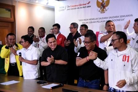 Deklarasi Kemenangan Jokowi-Ma'ruf untuk Meyakinkan Pendukung