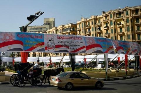 Puluhan Juta Warga Mesir Ikuti Referendum Konstitusi