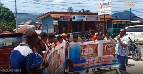 Masyarakat Jayapura Tuntut Kasus Politik Uang Segera Diusut