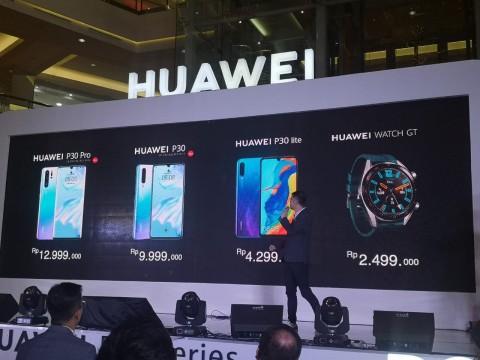 Huawei P30 Series Resmi Dijual