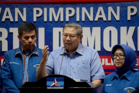 SBY Kumpulkan Petinggi Demokrat di Singapura
