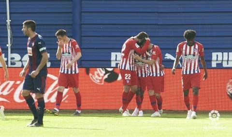 Atletico Raih Poin Maksimal di Kandang Eibar