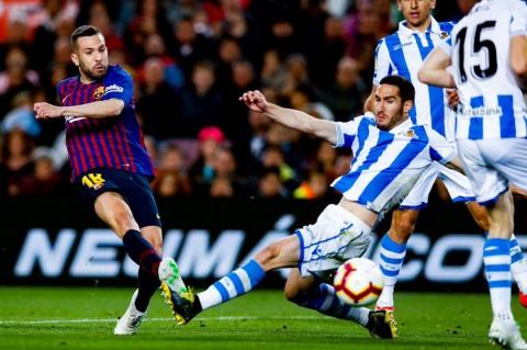 Kalahkan Real Sociedad, Barcelona Makin Kokoh di Puncak Klasemen