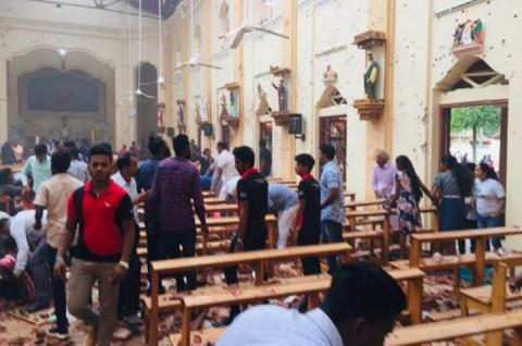 Enam Ledakan Guncang Gereja dan Hotel Sri Lanka, 80 Terluka