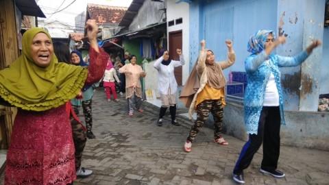 Senam Berkebaya untuk Peringati Hari Kartini