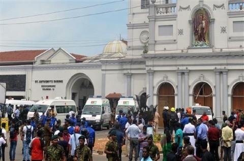 Melonjak Tajam, Korban Ledakan Sri Lanka Jadi 137 Orang