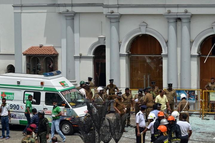 52 Orang Tewas Akibat Ledakan di Gereja Sri Lanka