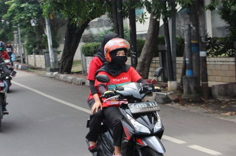 Peduli Terhadap Lady Bikers di NAVARO Ladies Nite