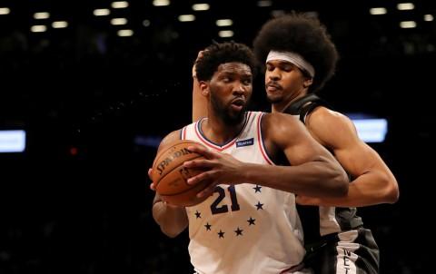 Diwarnai Kericuhan, 76ers Perbesar Keunggulan atas Nets