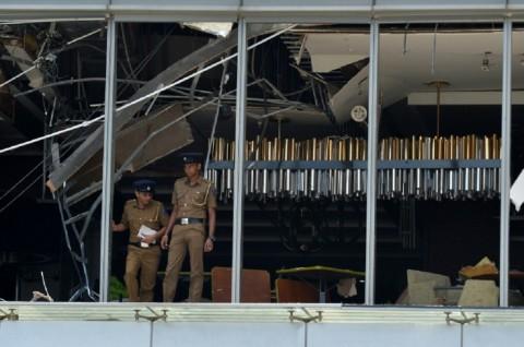 Korban Tewas Ledakan Sri Lanka 156 Orang, Termasuk 35 WNA