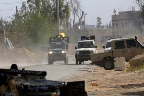 Serangan Udara dan Ledakan Guncang Ibu Kota Libya