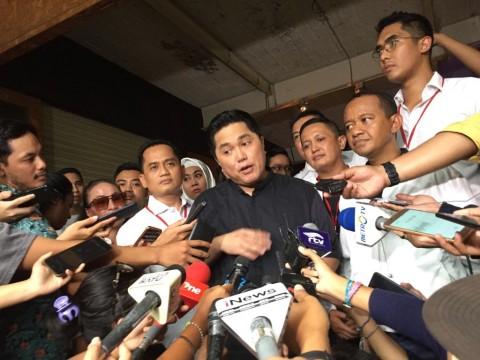 Erick Thohir: Gerakan Milenial Buat Suara Jokowi Naik 7%