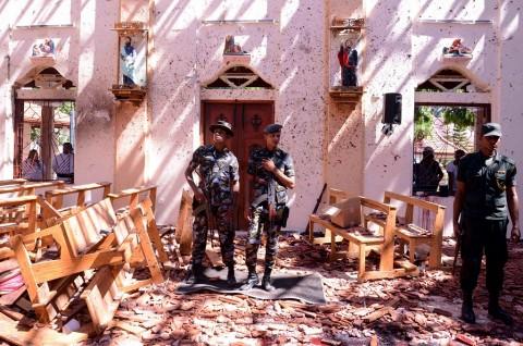 Korban Tewas Ledakan Sri Lanka Lampaui 200 Orang
