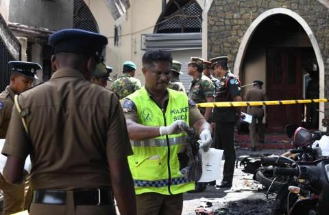 Delapan Orang Ditangkap Terkait Bom di Sri Lanka
