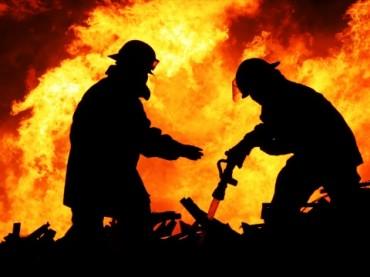 Pasar Blok C Tanah Abang Terbakar