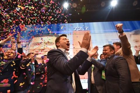 AS dan Eropa Ucapkan Selamat kepada Presiden Terpilih Ukraina