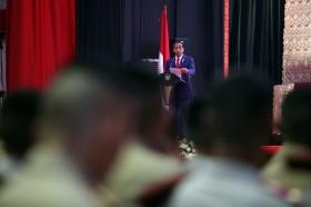 Jokowi Kumpulkan Menteri Bahas Anggaran