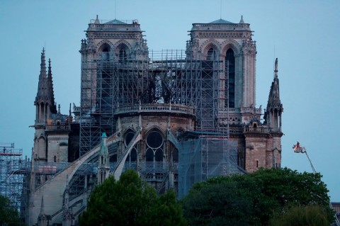Prancis akan Bikin Kompetisi Desain Notre Dame