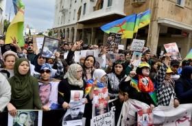 Ribuan Warga Maroko Tuntut Pembebasan 42 Aktivis