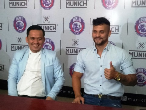 Arema FC Coret Robert Lima 'Gladiator' dari Skuat
