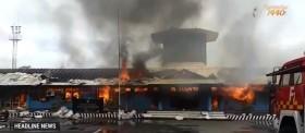 Kebakaran di Bandara Douw Aturure Diduga Akibat Arus Pendek