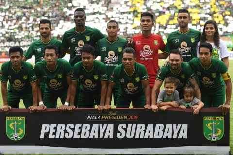 Laga Persebaya vs Madura United Ditunda
