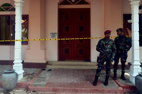 Jumlah Korban Tewas Sri Lanka Lampaui 300 Jiwa
