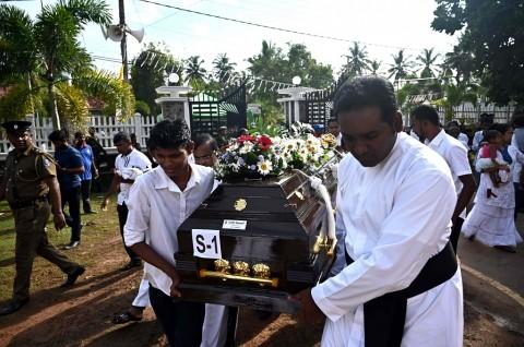 Hari Berkabung Nasional, Sri Lanka Gelar Pemakaman Massal
