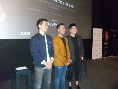Shawn Mendes Gelar Konser Perdana di Indonesia Oktober 2019