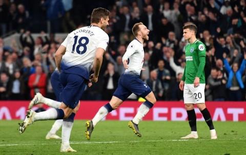 Tottenham Susah Payah Kalahkan Brighton