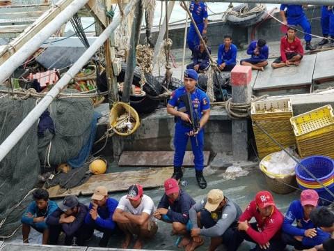 Dua Kapal Vietnam Ditangkap di Perairan Kepri