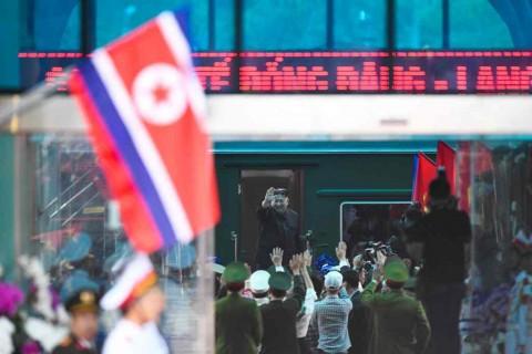 Kim Jong-un ke Rusia Naik Kereta Berlapis Baja