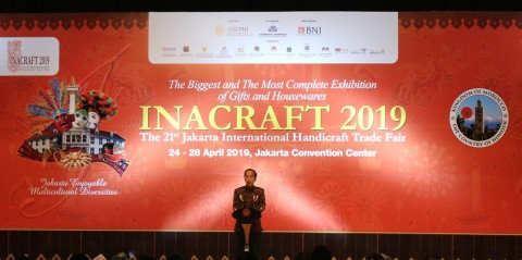 President Jokowi Opens INACRAFT 2019