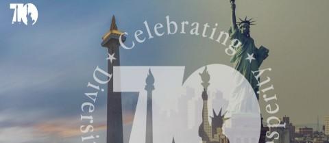 70 Tahun Hubungan RI-AS, Platform Digital Diluncurkan