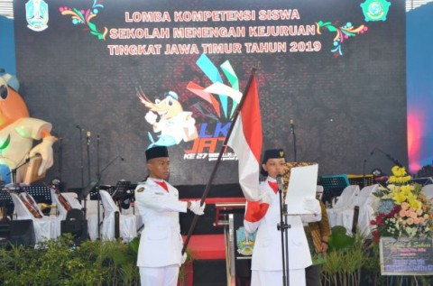 Ratusan Siswa di Jawa Timur Berlaga di LKS SMK XXVII