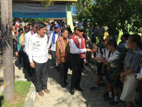 Baru Empat Sekolah Gelar UNBK di Kabupaten Belu