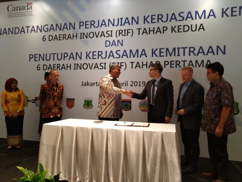Kanada Lanjutkan Pengembangan Inovasi Ekonomi Lokal Indonesia