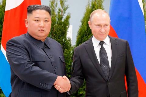 Kim Jong Un Bertemu Vladimir Putin